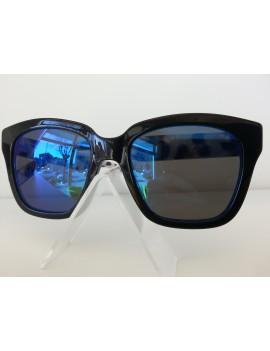 Occhiale da sole marc jacobs mod.229/s col.e5kxt7sp colore nero/blu brillantinato lenti specchiate blu donna