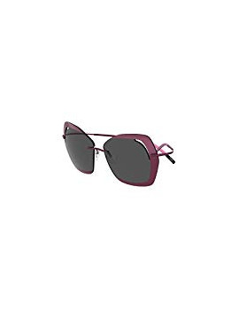 Sunglasses Silhouette PERRED SCHAAD 9910 PLUM/SMOKE woman