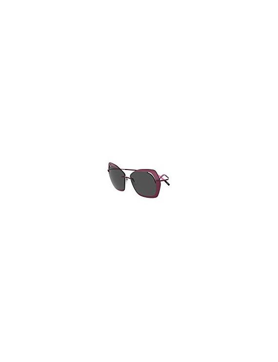 Occhiali da sole Silhouette PERRED SCHAAD 9910 PLUM/SMOKE donna