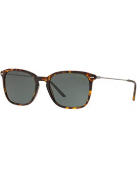 ARMANI MAN 8111 SUNGLASSES, BROWN, 54