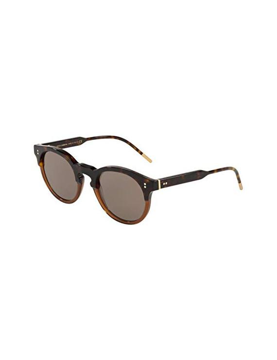 Dolce Gabbana 0DG4329, Occhiali da Sole Uomo, Marrone (Havana/Transparente Brown), 50