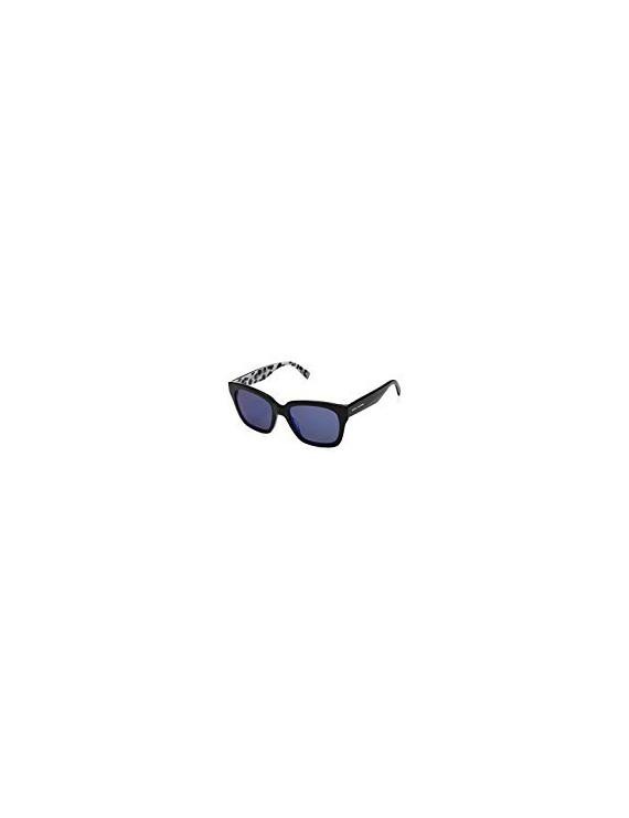 Sunglasses marc jacobs mod.229/s col.e5kxt7sp color black/blue diamond mirror lens blue