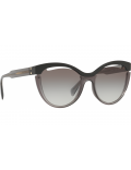 Sunglasses for woman miu miu mod.01t color 1ab-3m1 gray color lenses in grey gradient